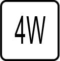Maximálny príkon 4W