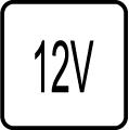 Určené pre napájacie napätie 12V