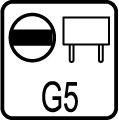Typ objímky / pätice G5