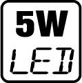 Príkon LED 5W
