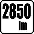 Svetelný tok v lumenoch - 2850 lm