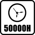 Svietivosť 50.000 hod.