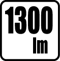Svetelný tok v lumenoch - 1300 lm