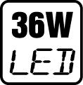 Príkon LED 36W