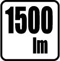 Svetelný tok v lumenoch - 1500lm