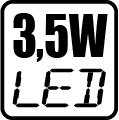 Príkon LED 3,5W