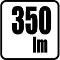 Svetelný tok v lumenoch - 350lm