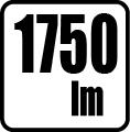 Svetelný tok v lumenoch - 1750lm