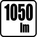 Svetelný tok v lumenoch - 1050 lm