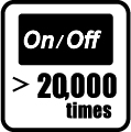 On/Off 20.000 krát
