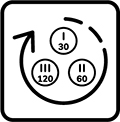 Lampa ma cyklus vypnutia a zapnutia