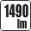 Svetelný tok v lumenoch - 1490 lm
