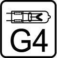 �iarovka halog�nov� G4