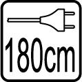 Dĺžka vodiča 180cm