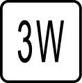 Maximálny príkon 3W