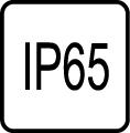 IP 65 - Stupe� IP ochrany svietidiel