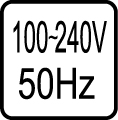 Určené pre napájacie napätie 100-240V 50 Hz