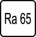Index podania farieb RA = 65