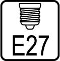 Typ objímky / pätice E27
