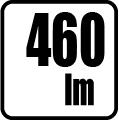 Svetelný tok v lumenoch - 460 lm