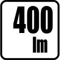 Svetelný tok v lumenoch - 400 lm