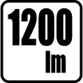 Svetelný tok v lumenoch - 1200 lm