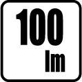 Svetelný tok v lumenoch - 100 lm