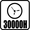 Svietivosť 30.000 hod.