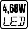 LED 4,68W