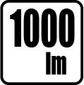Svetelný tok v lumenoch - 1000 lm