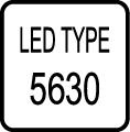Typ LED čipu - SMD 5630 LED čip