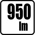 Svetelný tok v lumenoch - 950lm
