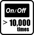 On/Off 10.500 krát