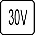 Napätie 30V