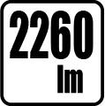 Svetelný tok v lumenoch - 2640 lm
