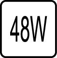 Príkon 48W