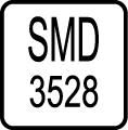 Typ LED čipu - SMD 3528 LED čip