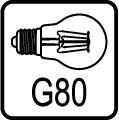 Typ žiarovky G80