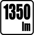 Svetelný tok v lumenoch - 1350 lm