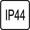 IP 44 - Stupeň IP ochrany svietidiel