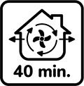 Po použití lampy vetrajte 40min