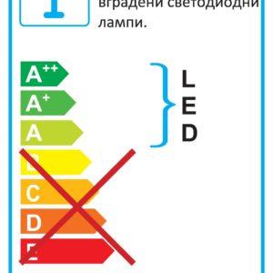 LED ЛУНА ЗА ВГРАЖДАНЕ - DOWLIGHT 71017
