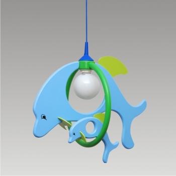 Детска лампа DOLPHIN 28115