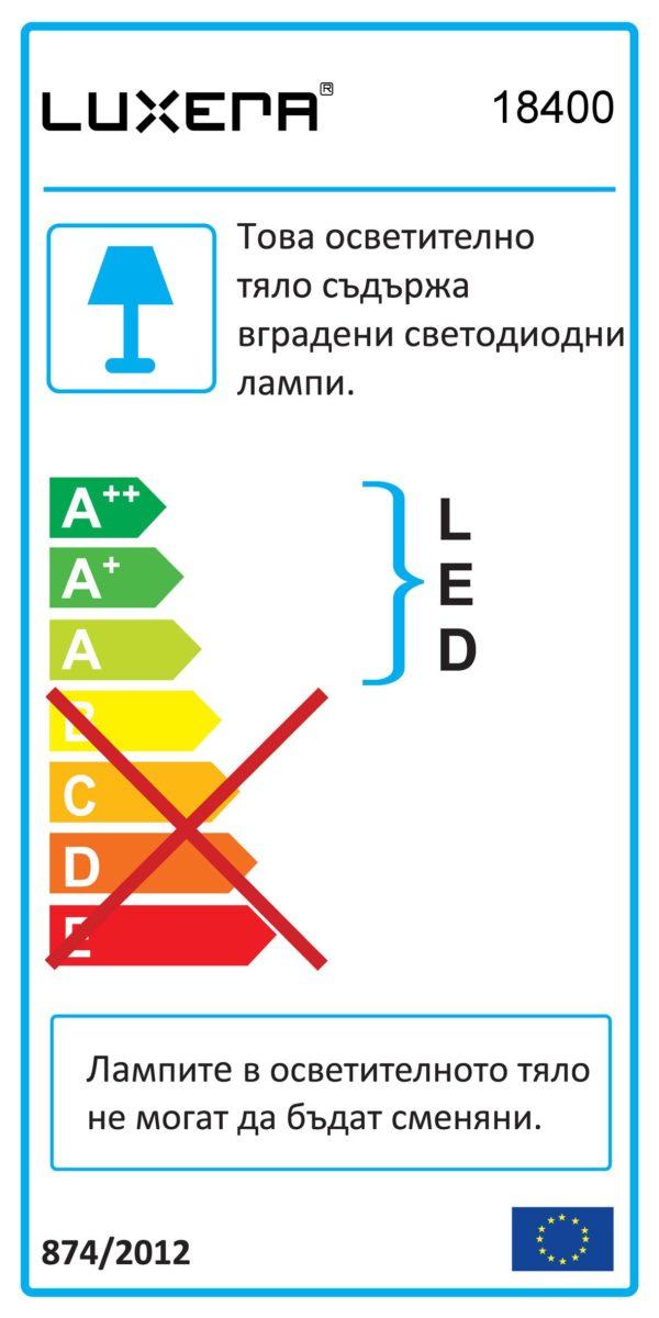 ПЛАФОН GENTIS LED 18400